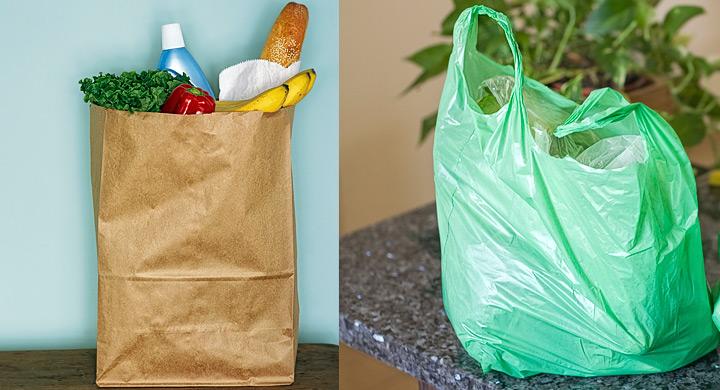 Resultado de imagen para bolsa reutilizable con bolsas de plastico