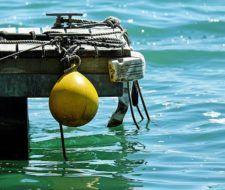 Plastico ecológico que se degrada en agua salada