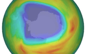 EL agujero de ozono ha crecido este año
