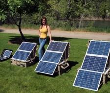 ¿Como construir un panel solar?