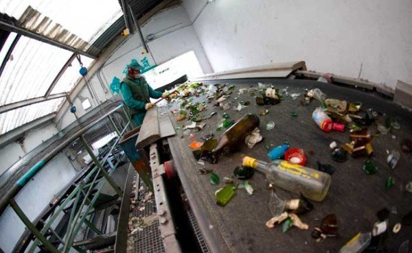 Que pasa con el vidrio cuando se recicla