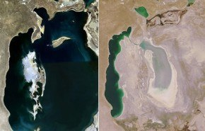 La triste historia del Mar de Aral