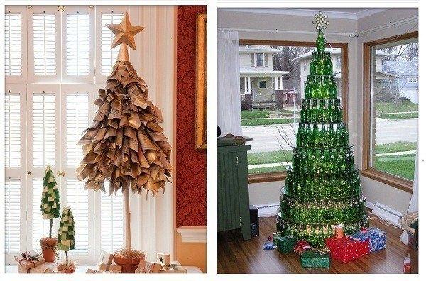 arbol navidad ecologico reciclado