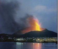 Volcán de Islandia