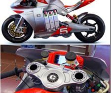 Moto eléctrica con cero emisiones E1pc