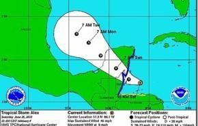 Tormenta tropical Alex