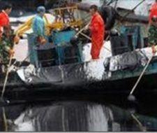 Derrame de petróleo en China