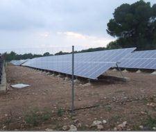 Medio Ambiente con energías renovables y medio ambiente protegido