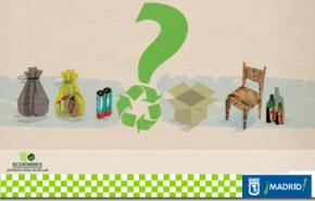 Como reciclar en Madrid