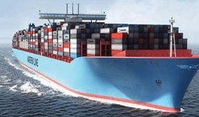 El Barco portacontenedores mas ecologico del mundo
