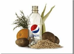 Pepsi trae la primer botella ecologica vegetal y con cero petroleo