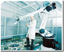 Un robot que recupera materiales reciclables de los escombros