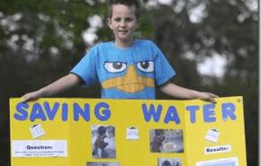 Un simple metodo para ahorrar agua… desarrollado por un niño de 9 años!!