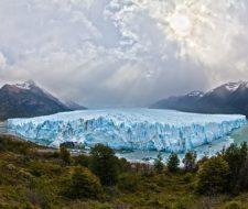 Acción geológica del viento, los glaciares y el ser humano
