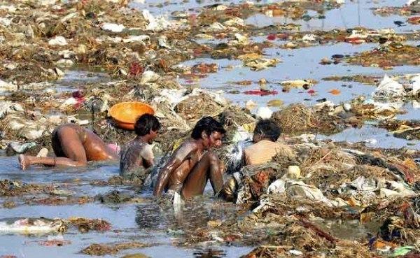 Ejemplos de rios contaminados