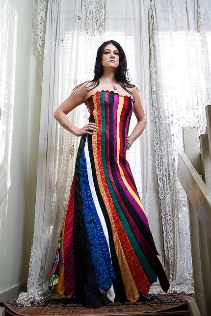 Dress Made From Ties