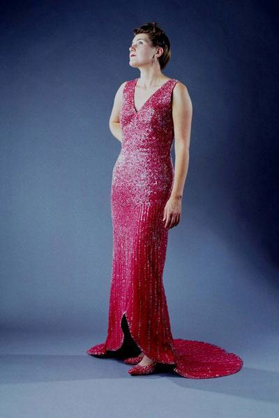 Glass Evening Gown