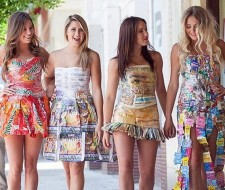 Vestidos reciclados: beneficios e ideas para hacer vestidos con materiales reciclables