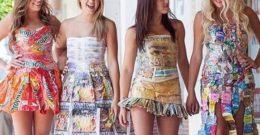 Vestidos reciclados: beneficios e ideas para hacer vestidos con materiales reciclables