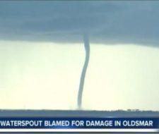 Vídeo de enorme tornado