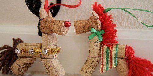 Decoraci n navide a con materiales reciclados adornos - Trabajos manuales navidenos ...