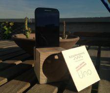 Altavoces ecológicos e inalámbricos Ecophonic para smartphones