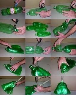 Ideas para reciclar botellas de plástico escoba