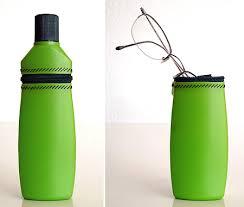 Ideas para reciclar botellas de plástico funda gafas