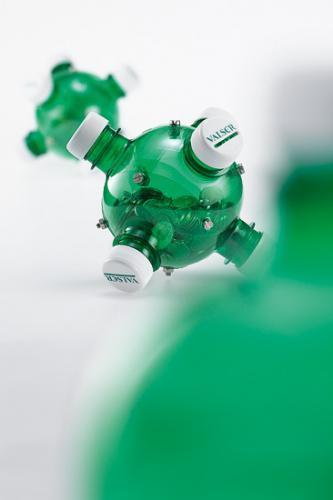Ideas para reciclar botellas de plástico hucha