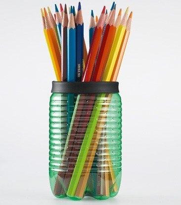 31 ideas para reciclar botellas de pl stico for Trabajos artesanales para hacer en casa