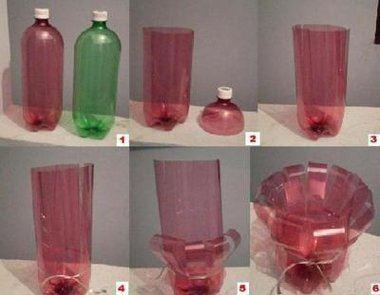 16-ideas-para-reciclar-botellas-de-plastico-portavelas-3