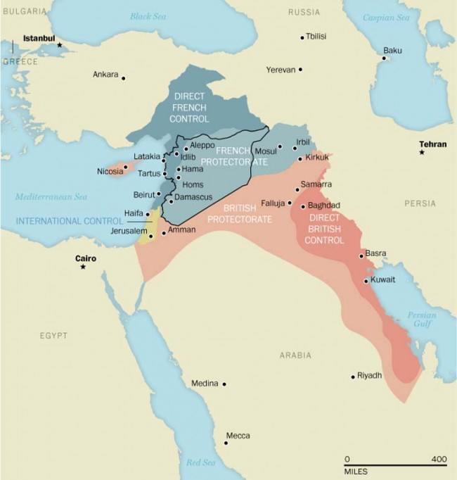 40-mapas-que-explican-el-mundo-tratado-europeo-1916-para-repartirse-Oriente-Medio