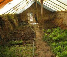 Cómo hacer un invernadero subterráneo para un huerto o jardín por menos de 250 euros   Vídeo