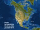 El mapa de la tierra si se fundiera el hielo de los casquetes polares
