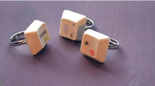 regalos para san valentn con material reciclado anillos