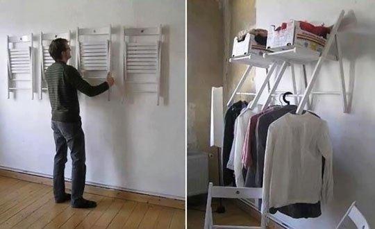 14-formas-curiosas-de-reciclar-cosas-viejas-armario-con-sillas