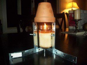 C mo calentar tu casa a diario por menos de 20 c ntimos de euro al d a con una maceta y una vela - Como calentar la casa ...
