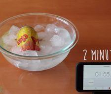 Cómo enfriar una bebida en 2 minutos con sal y agua (Vídeo)
