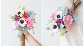 Flores recicladas para regalar en San Valentín 2019