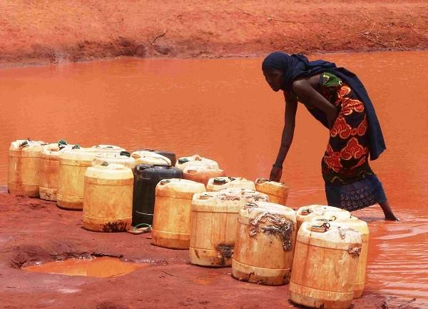 contaminacion agua africa