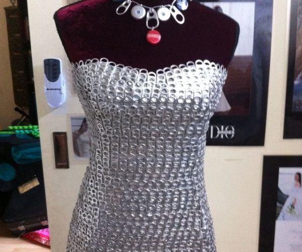 0175ff7cf0ee6 Vestidos reciclados  beneficios e ideas para hacer vestidos con ...
