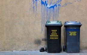 Reciclando la pintura de desperdicio
