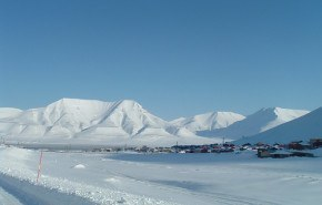 Arte ecológico en el Polo Norte