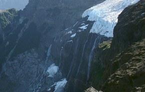 Los glaciares patagónicos están retrocediendo
