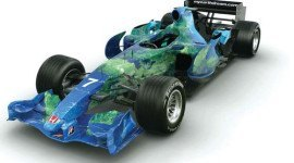 Fórmula Uno ecologista: Honda presentó su Auto del Planeta