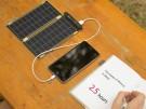 Cargador solar para el iPhone