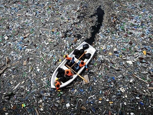 mar contaminacion