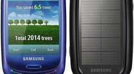 Samsung presenta el primer móvil que funciona con energía solar