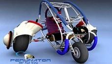 Perunator: vehículo ecológico de aventura