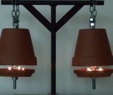 Cómo crear un sistema de calefacción con una maceta para calentar una habitación (Vídeo)